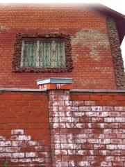 9.Очистка кирпича,  фагота,  клинкера,  фасадов от высолов,  соли.