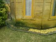 Чистка мойка тротуарной плитки ФЭМ и гранитной брусчатки